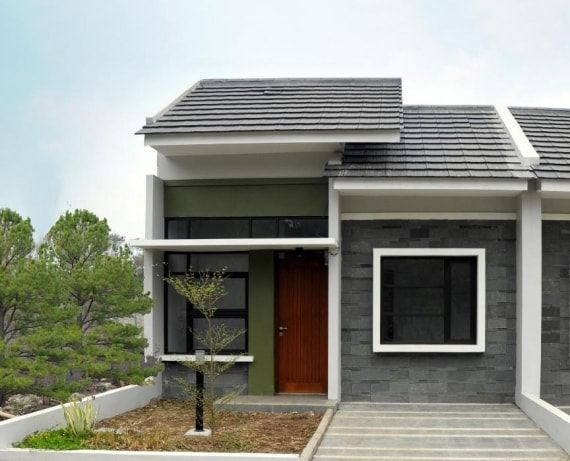 27 Examples Of Type 21 Minimalist Home Designs Simple But Modern Looks House Designs Exterior House Design Minimalist House Design