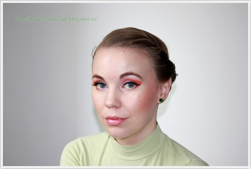 LOTD: Fresh Orange ~ By Dee make-up and more