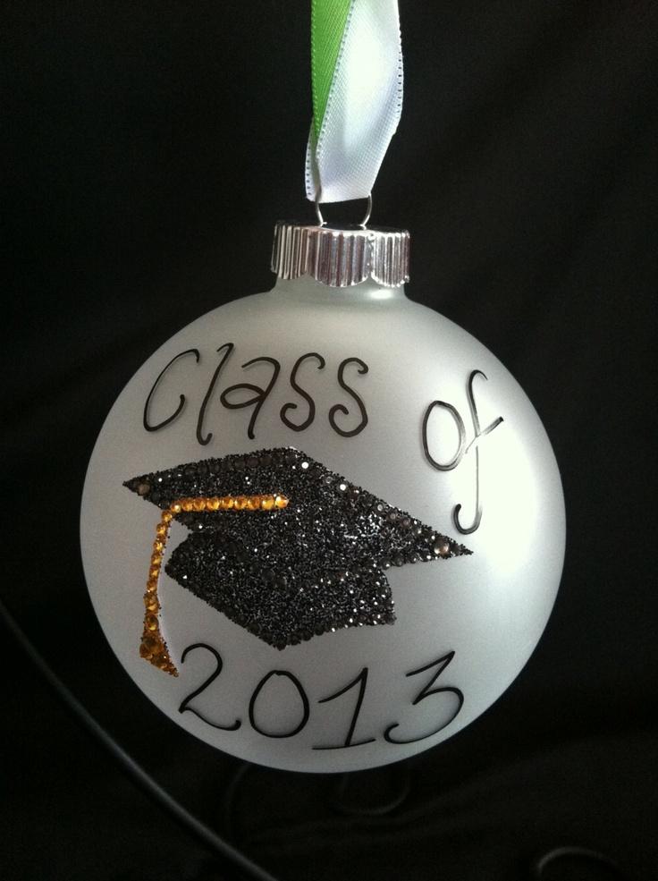 Graduation Ornament. $20.00, via Etsy.