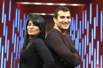 Parmeet and Archana  Puran Singh
