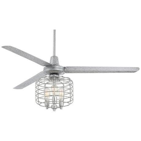60  Turbina  Galvanized Industrial Cage Ceiling Fan. Best 25  Caged ceiling fan ideas on Pinterest   Industrial ceiling