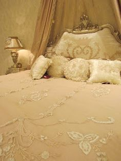 image result for ornate bed crowns beautiful