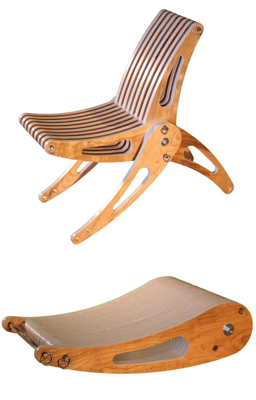 Folding Deck Chair. Trevor O'Neil.: Trevoroneil, Deck Chairs, Decks, Chair Design, Folding Deck, Deck Chair Nice, Folding Chairs