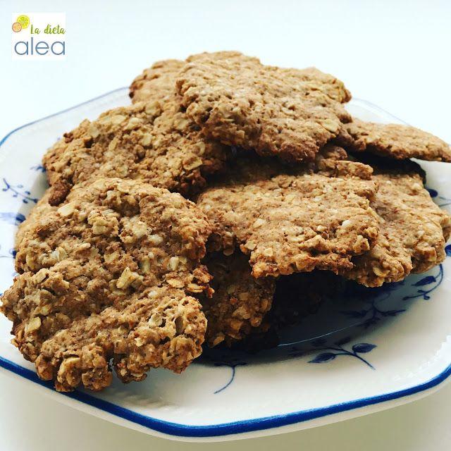 Galletas de avena, jengibre y canela - La dieta ALEA - blog de nutrición y dietética, trucos para adelgazar, recetas para adelgazar