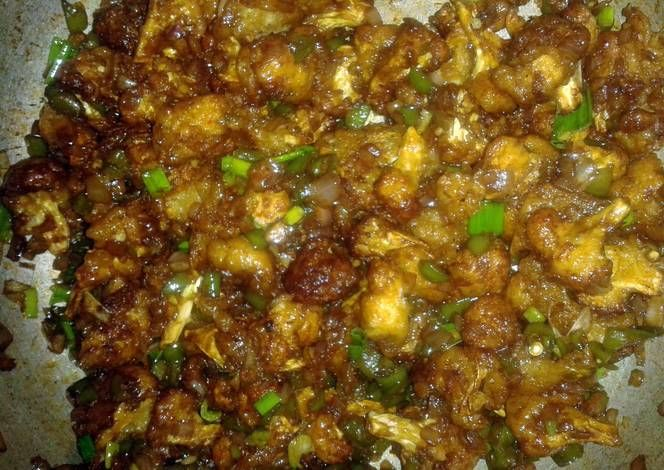 Cauliflower Manchurian Dry Recipe -  Yummy this dish is very delicous. Let's make Cauliflower Manchurian Dry in your home!