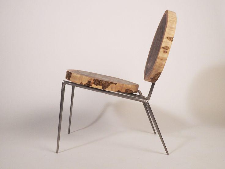 cadeira com madeira recuperada de daniel kaufman