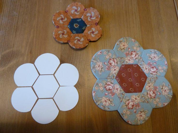 Fleur à partir d'un hexagone.....