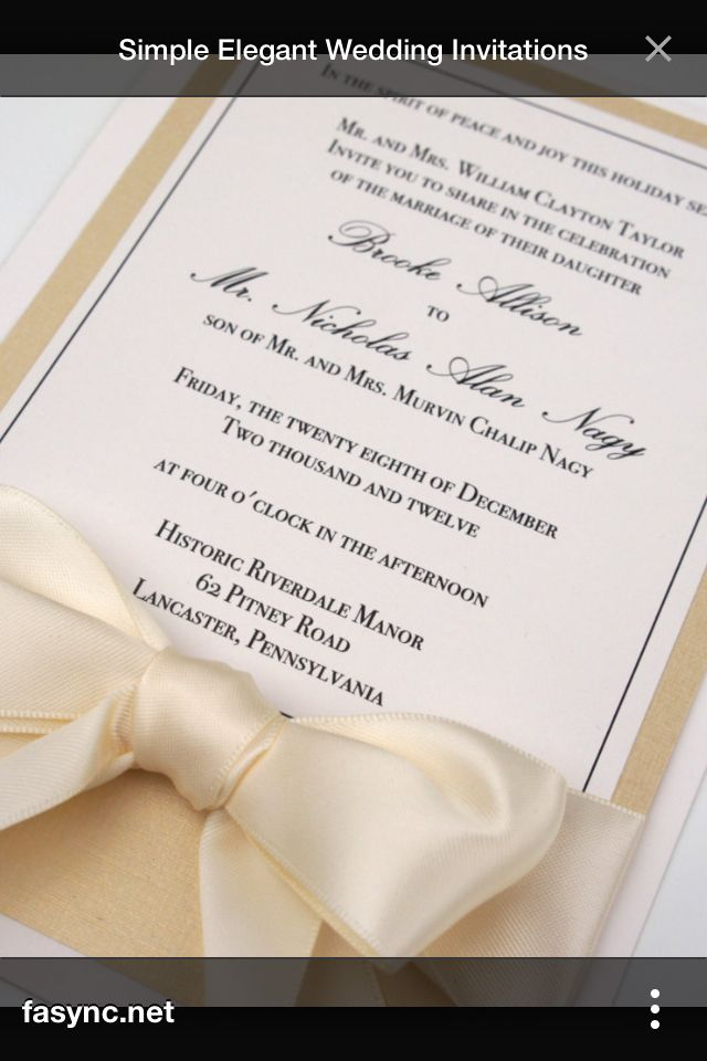 wedding invitation photo%0A formal elegant wedding invitations  Elegant Wedding Invitations for  Beautiful Wedding Ceremony  u     Wedding Styles