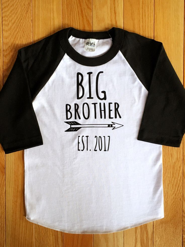 A personal favorite from my Etsy shop https://www.etsy.com/listing/505185105/big-brother-shirt-personalized-big
