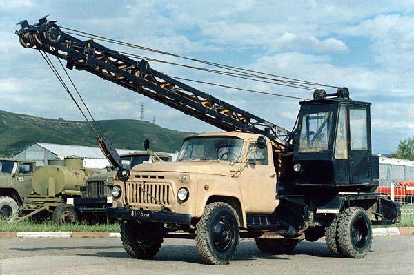 Картинки по запросу ГАЗ-53А КС-1562 (К-45) Автокран
