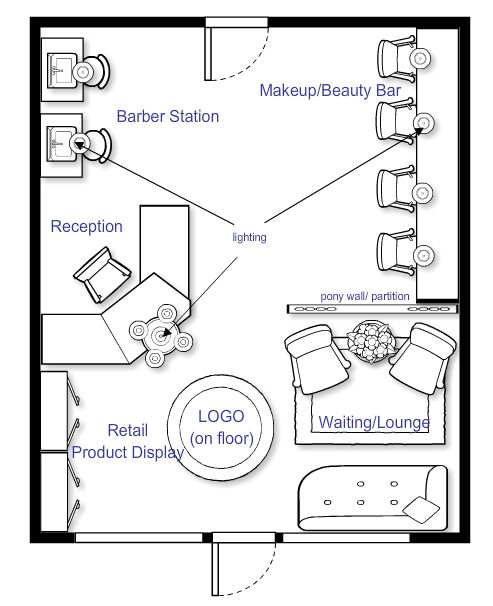 17 best images about my salon ideas on pinterest for Design a beauty salon floor plan