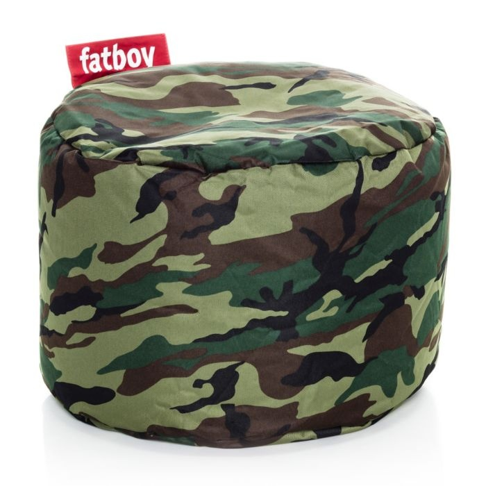 fatboy point bean bag in camouflage featured in vente excited they still make. Black Bedroom Furniture Sets. Home Design Ideas
