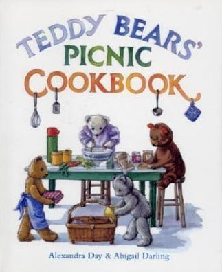 The recipes have all been tested, and can be prepared by children. Alexandra Day is the best-selling illustrator of the books Good Dog, Carl and The Teddy Bears' Picnic.  Includes simple menus for picnics with foods that both teddy bars and children can prepare with minimal help. http://www.amazon.com/Teddy-Picnic-Cookbook-Abigail-Darling/dp/1883211603/ref=sr_1_8?m=A3030B7KEKNTF7&s=merchant-items&ie=UTF8&qid=1394865493&sr=1-8&keywords=cookbooks
