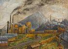 Ashington Colliery, Harry Wilson. Pitman Painter of the 1930s Ashington Woodhorn Museum