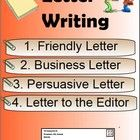 Letter Writing - Friendly Letter, Business, Letter to Editor PDF FIle ...