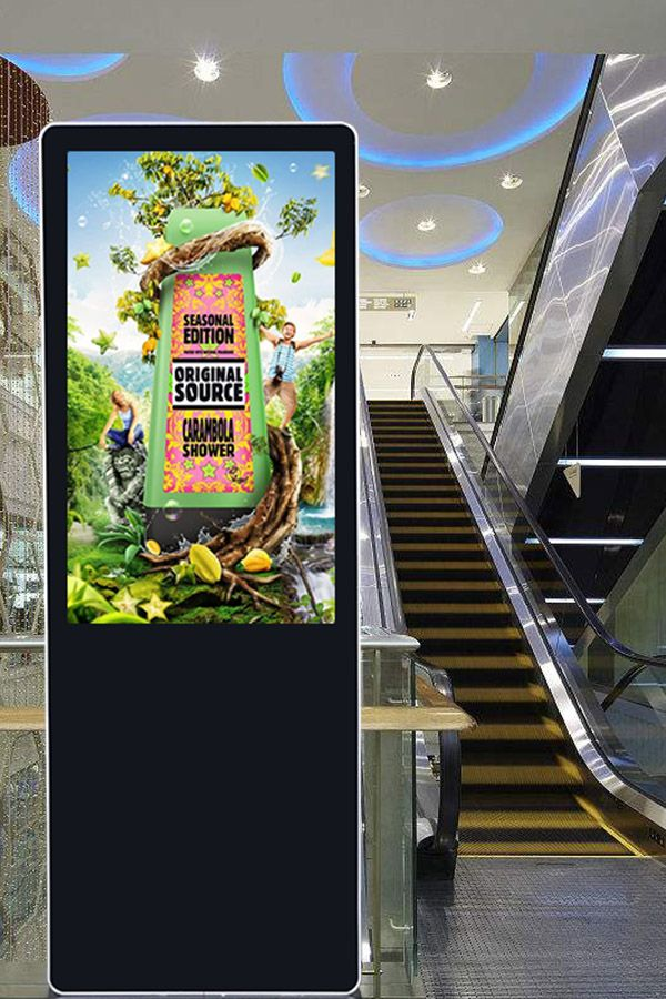 Promotion 43 Inch Media Player Lcd Screen Floor Standing Digital