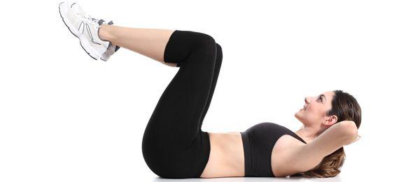 Esercizi per ridurre il grasso della pancia - scricchiolii