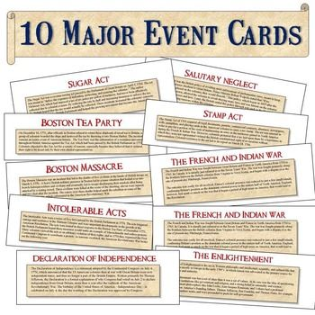 Printables American Revolution Timeline Worksheet 1000 ideas about american revolution timeline on pinterest interactive project this fantastic cooperative learning activity has your students sorting 10 key events th