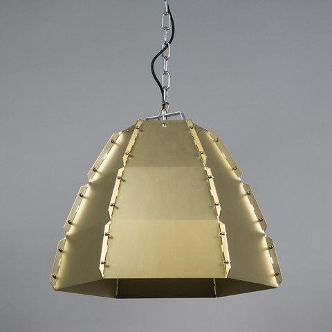Hanglamp Niro goud - Binnenverlichting - QAZQA.com