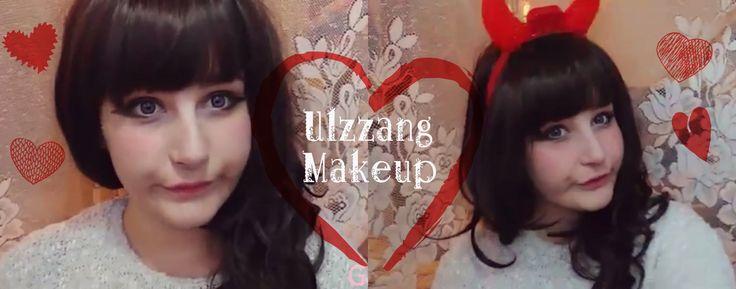 Ulzzang Inspired Makeup Tutorial  #makeup #ulzzang #inspired #cute #kawaii