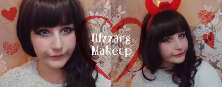 Ulzzang Inspired Makeup Tutorial  #makeup #ulzzang #inspired #cute #kawaii