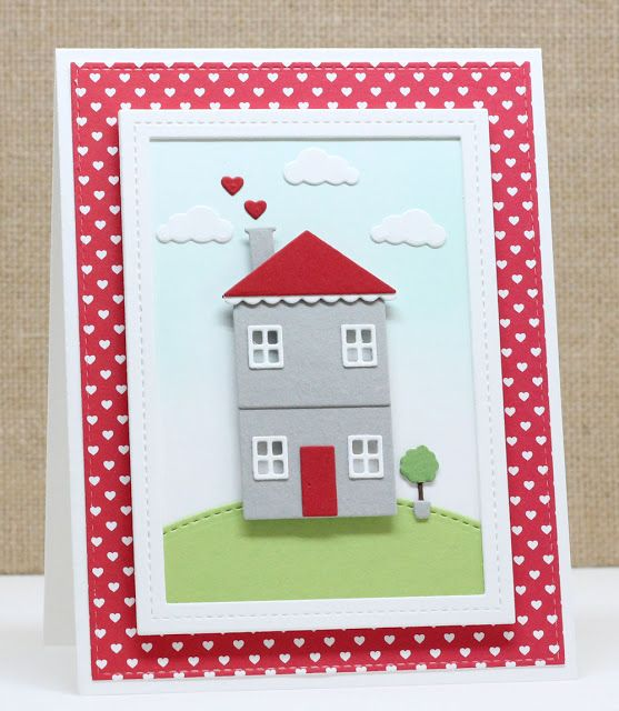Home Sweet Home Die-namics, Stitched Basic Edges Die-namics, Stitched Scallop Basic Edges Die-namics, Blueprints 13 Die-namics, Single Stitch Line Rectangle Frames Die-namics - Jody Morrow  #mftstamps