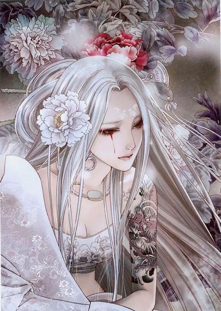 """aphrodisiacart: """"ZHANG XIAO BAI http://xiaobaiart.deviantart.com """""""