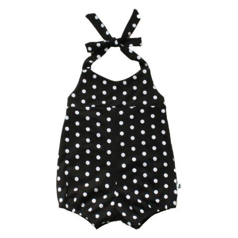 Romper - Black & White Dot - Little & Lively - 1
