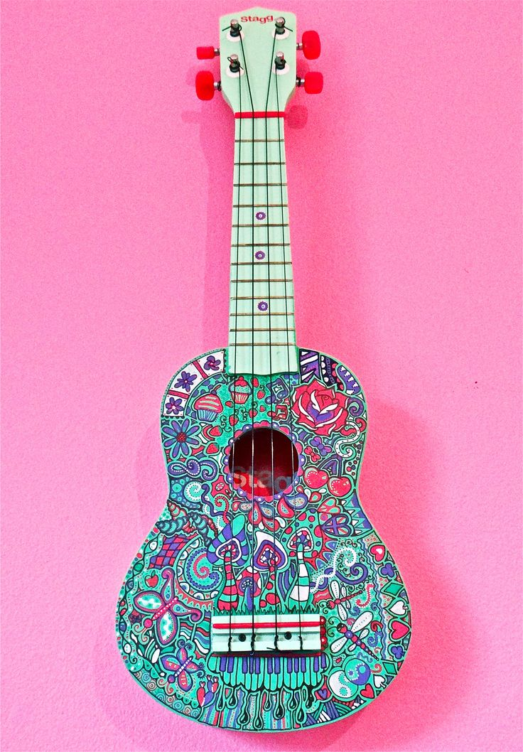 Ukulele by Adrift-Dreams.deviantart.com on @deviantART