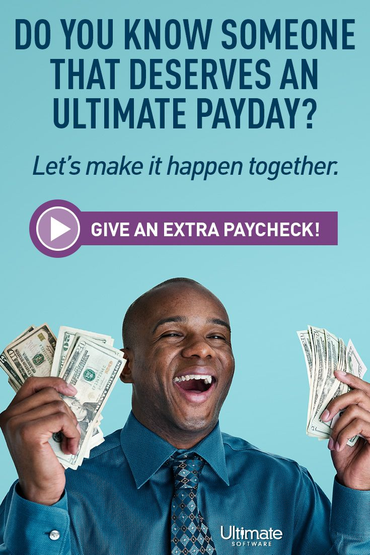 Don't forget to #PayItForward by nominating a co-worker for an extra paycheck by 9/15! Click for details.