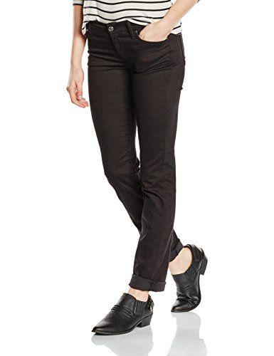 36f24334415 7 for all mankind Damen Slim Jeanshose THE STRAIGHT LEG Gr. W25/L33 ...