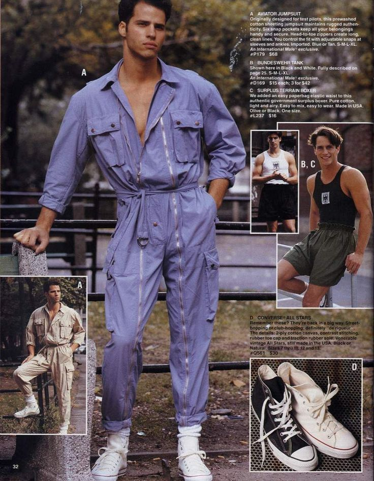 late 80s mens fashions 1989