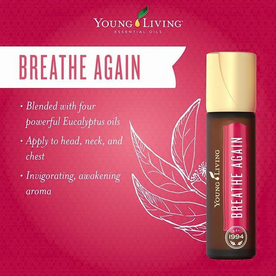 With a refreshing and rejuvenating aroma, the Young Living Breathe Again Roll-On is the perfect companion for early mornings, long days, and tough workouts. #breath, #breathe, #essential oil, #essential oils, #massage, #perfume,# roll-on, #uplifting, #youngliving