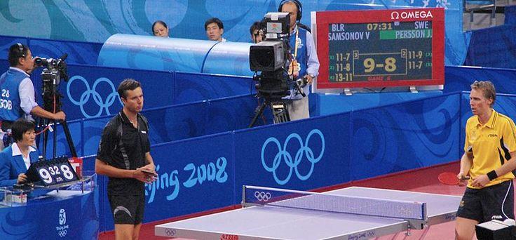 Samsonov en los Juegos Olímpicos de Beijing 2008 #vladimirsamsonov #tabletennis #olympicgames #tenismesa #vsport