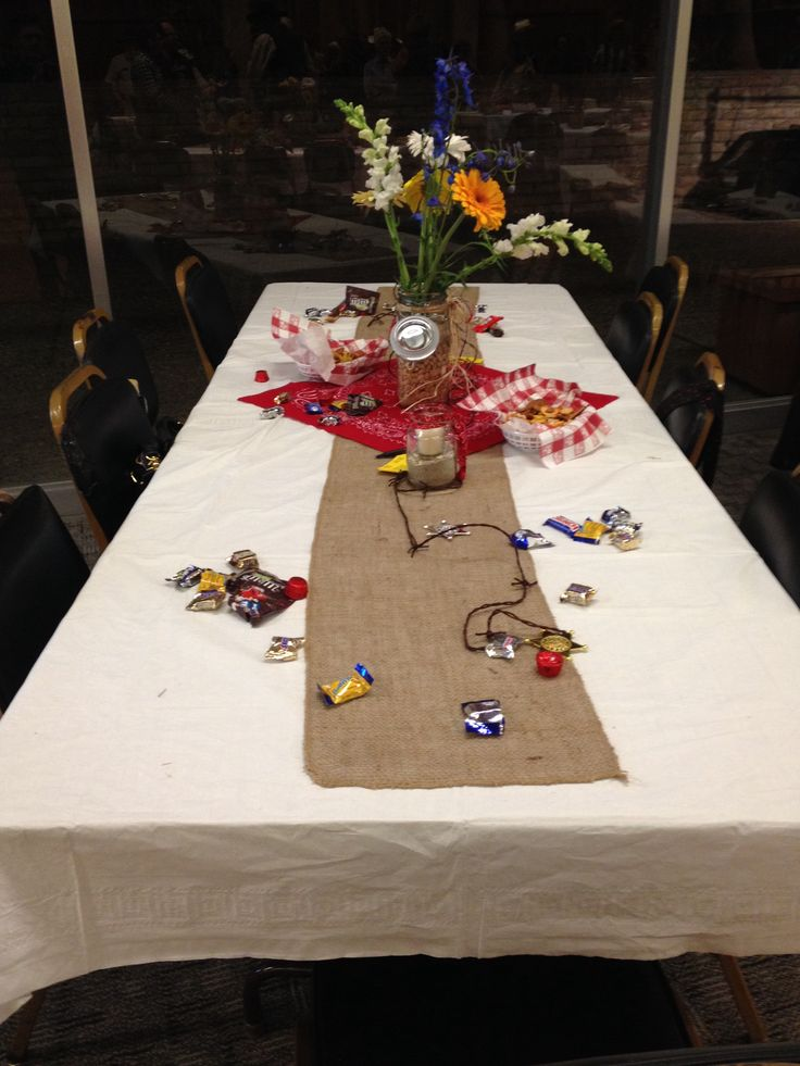 western table decorations