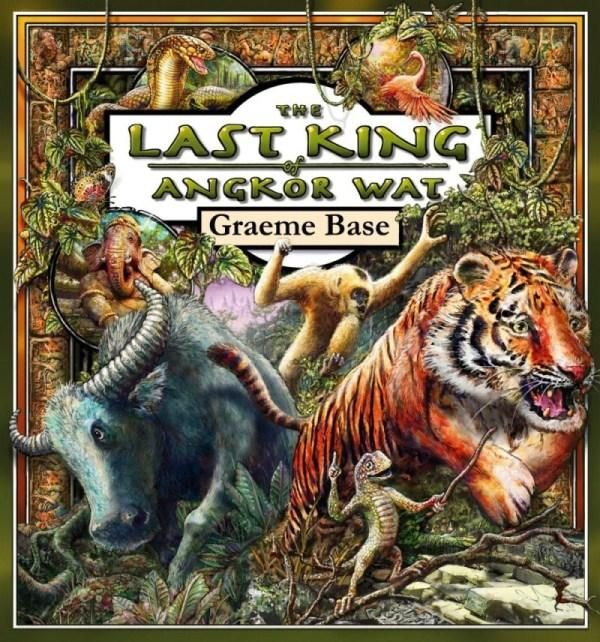COMING SEPTEMBER 24TH- Legendary Aussie author and illustrator Graeme Base's new book is The Last King of Angkor Wat.