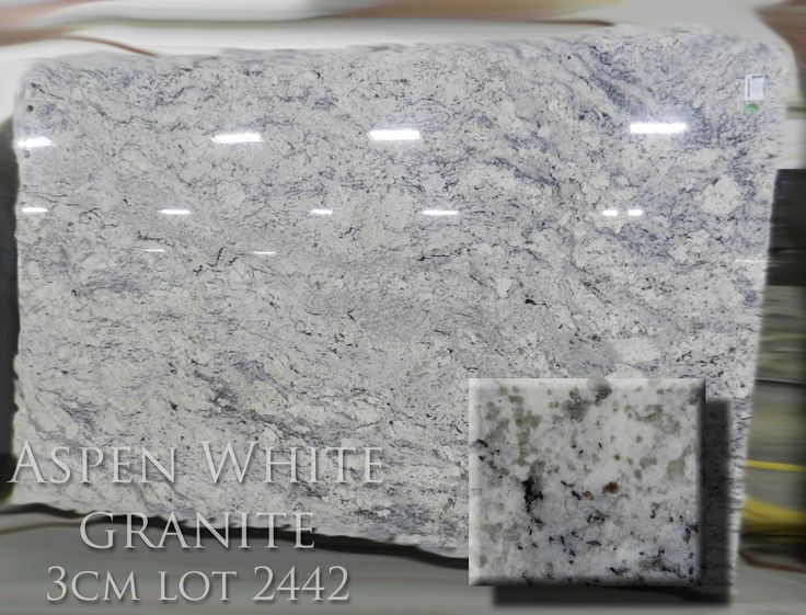 Aspen White Granite Slab Google Search Kitchen Design