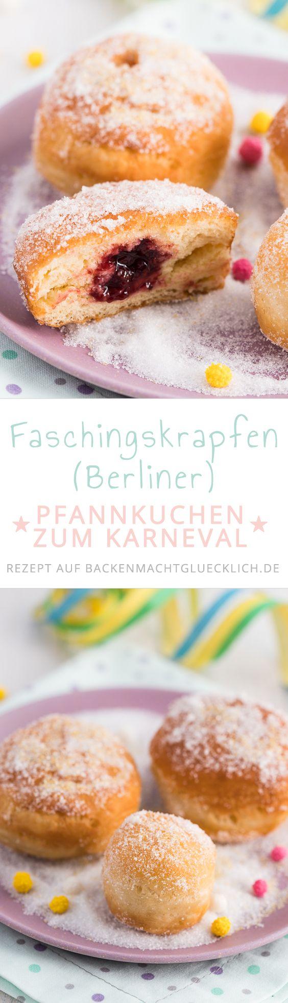 Krapfen, Berliner, Kreppel oder Pfannkuchen – jeder kennt das gefüllte Hefegebäck unter einem anderen Namen. Mit diesem Krapfenrezept könnt ihr die traditionelle Karnevals-Leckerei künftig selbermachen!