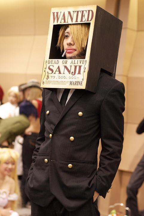 Sanji Wanted Poster Cosplay
