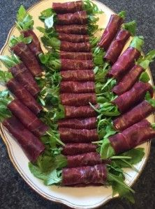 Roulade boeuf-roquette