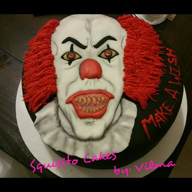 IT The Clown Pennywise Squisito Cakes By Vilma My
