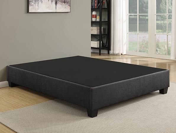 Ez Base Upholstered Bed Base Elegantly Combines Functions Of A