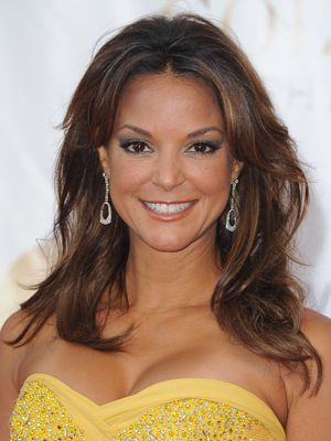 """Eva LaRue, 45  The actress of French, Puerto Rican, Dutch and Scottish descent is best known for her role as Dr. Maria Santos on All My Children. When it comes to beauty, Eva says, """"My definition of beauty is more of an internal beauty. It really is the energy you exude."""""""