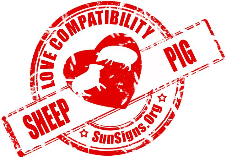 Sheep And Pig Chinese Zodiac Compatibility - Sun Signs