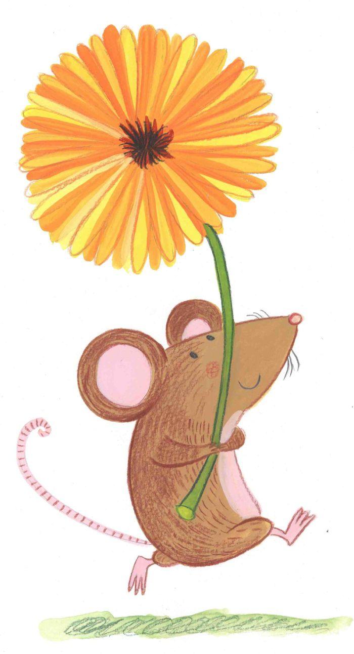 Kay Widdowson - Spring Mouse
