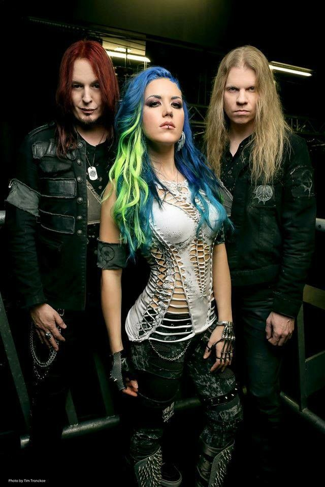 Alissa Gluz White / Arch Enemy♪ went to a concert awesome