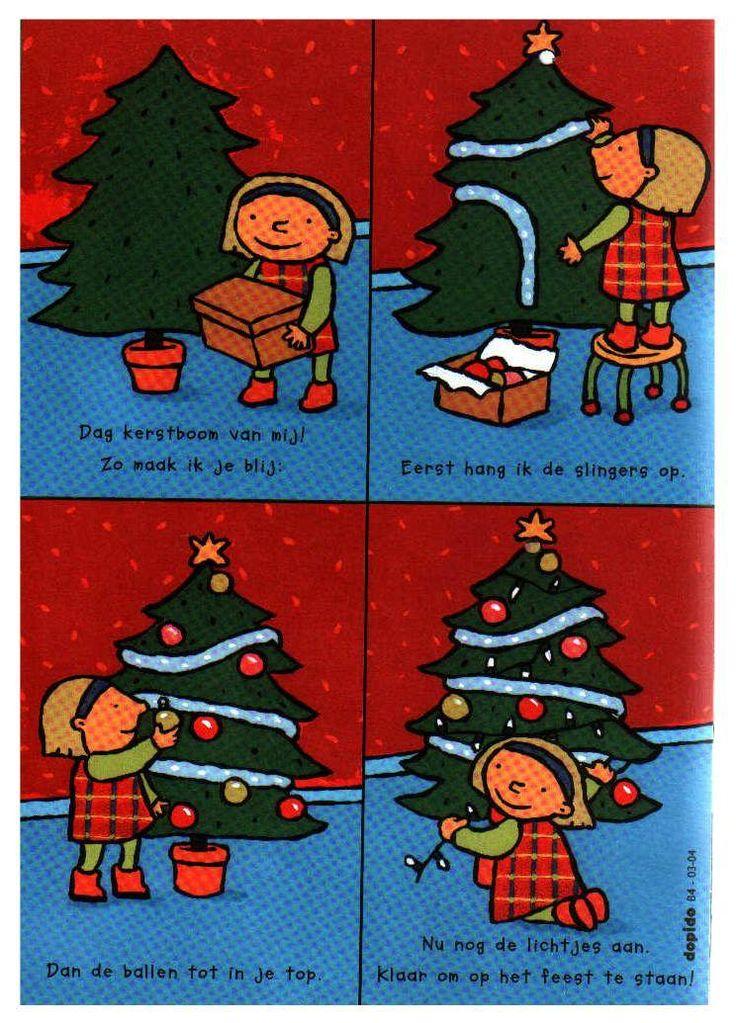 Begeleide of zelfstandige activiteit - Logische volgorde - kerstboom versieren