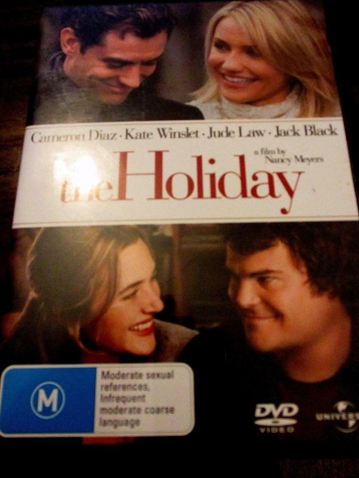The Holiday DVD CHRISTMAS HOLIDAY MOVIE Kate Winslet Cameron Diaz R4