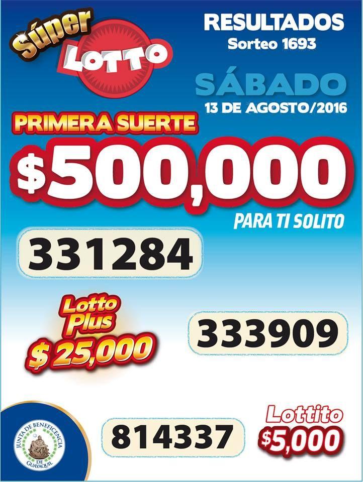 Sorteo Super Lotto del sabado 13/8/2016. Ver boletin: http://wwwelcafedeoscar.blogspot.com/2016/08/boletin-oficial-de-super-lotto-del-sabado-13-8-2016.html
