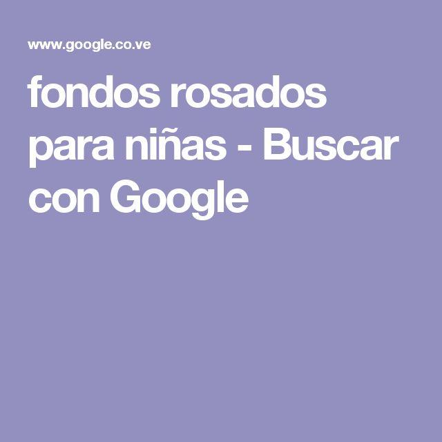 fondos rosados para niñas - Buscar con Google